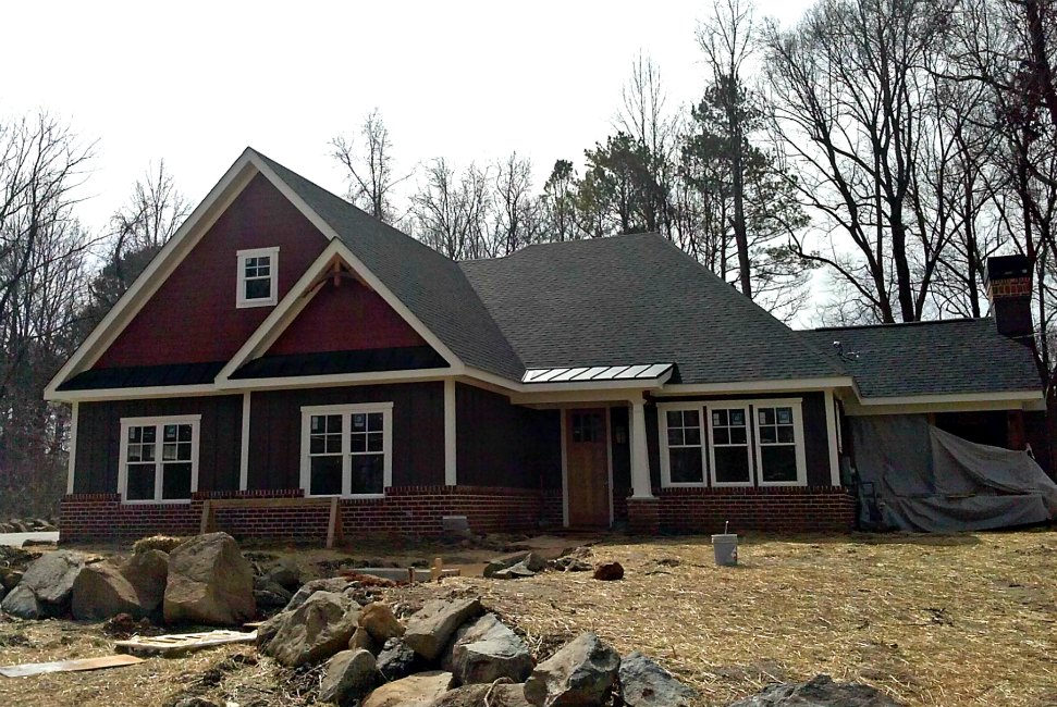 Atlanta New Roof Installation Home House Shingle Craftsman Style Roofing Fast Eddies Services