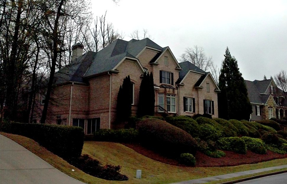 Atlanta New Roof Restoration Installation Home House Shingle Craftsman Style Roofing Fast Eddies Services