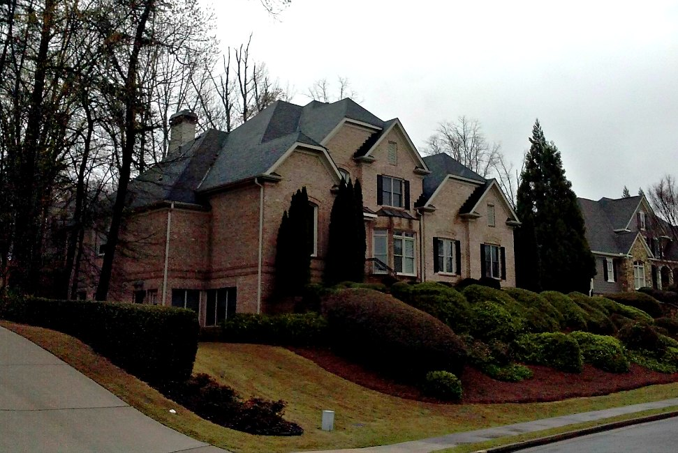 beautiful craftsman roofing #5: Atlanta New Roof Restoration Installation Home House Shingle Craftsman  Style Roofing Fast Eddies Services. Conventional Asphalt Composite Roofing .