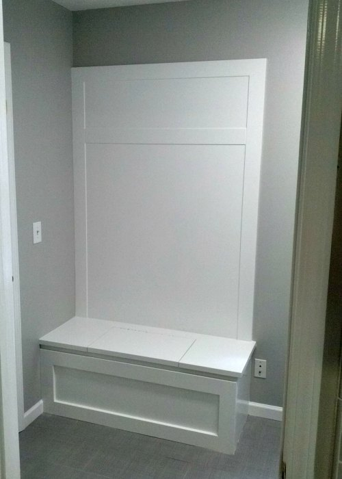 Atlanta GA Remodel And Renovation Contractors U2013 Hall Bench After Painting U2013  Fast Eddies Home Services U2013 Highlands SC