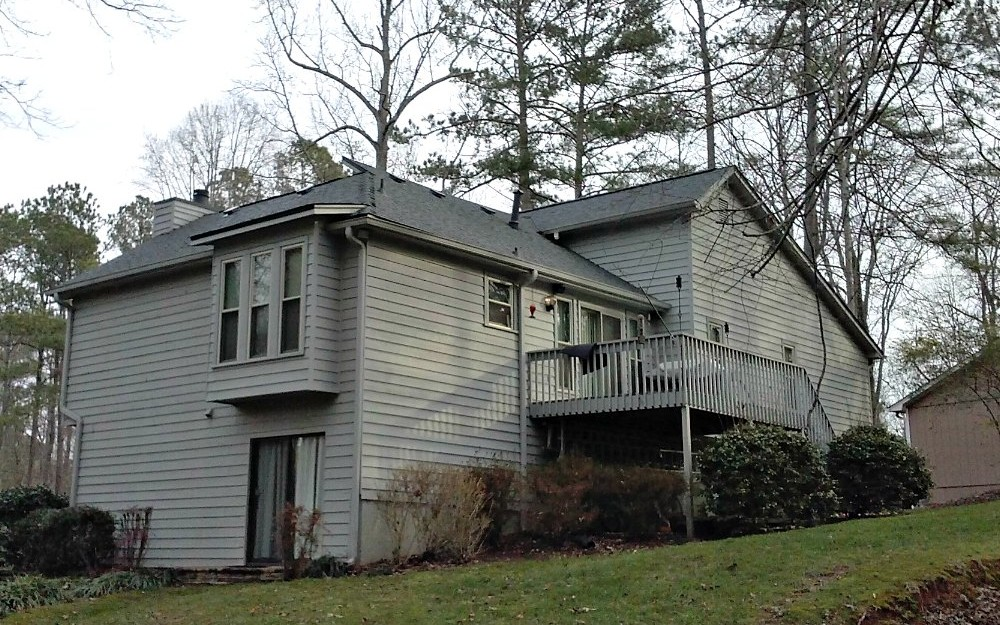 Atlanta Splitlevel New Roof Residential Repair and Installation - Fast Eddies Home Services - Also in Highlands NC